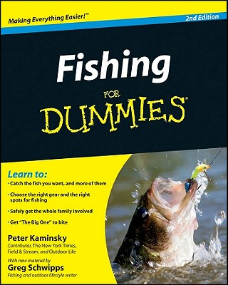 Fishing for Dummies By Kaminsky, Peter/ Schwipps, Greg
